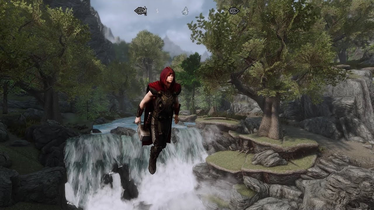 This mod turns Skyrim into a tropical rainforest | PC Gamer