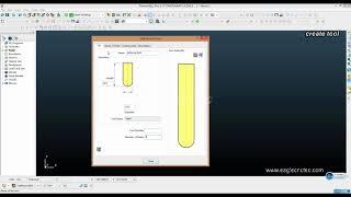 PowerMILL البرمجة البرنامج التعليمي: كيفية إنشاء أداة وحفظه