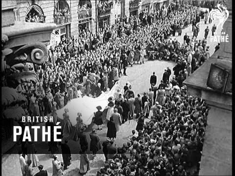 Wedding Of Archduke Otto Of Hapsburg (1951)