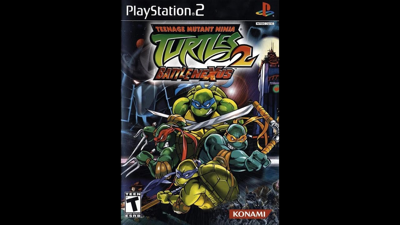 teenage mutant ninja turtles 3 gamecube iso