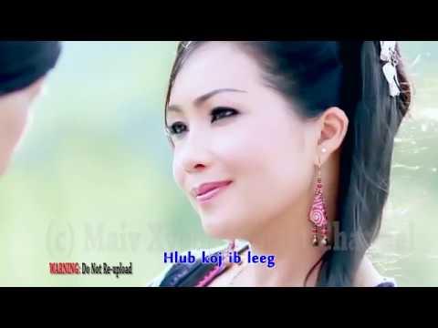 Instrumental Karaoke - Hlub Tau Koj with Lyrics by Maiv Xyooj & Xeeb Vwj (Original Karaoke Version)