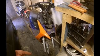 Купил Honda Dio за 1500 рублей.