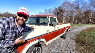 $100 PICKUP TRUCK UPDATE...CALLING ALL MECHANICS!!. TUNE UP?...WILL IT DO A GOOD BURNOUT NOW? thumbnail