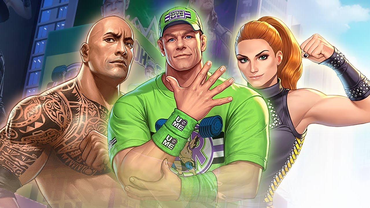 New Wwe Fighter King Of Fighters All Star X Wwe Collab Youtube
