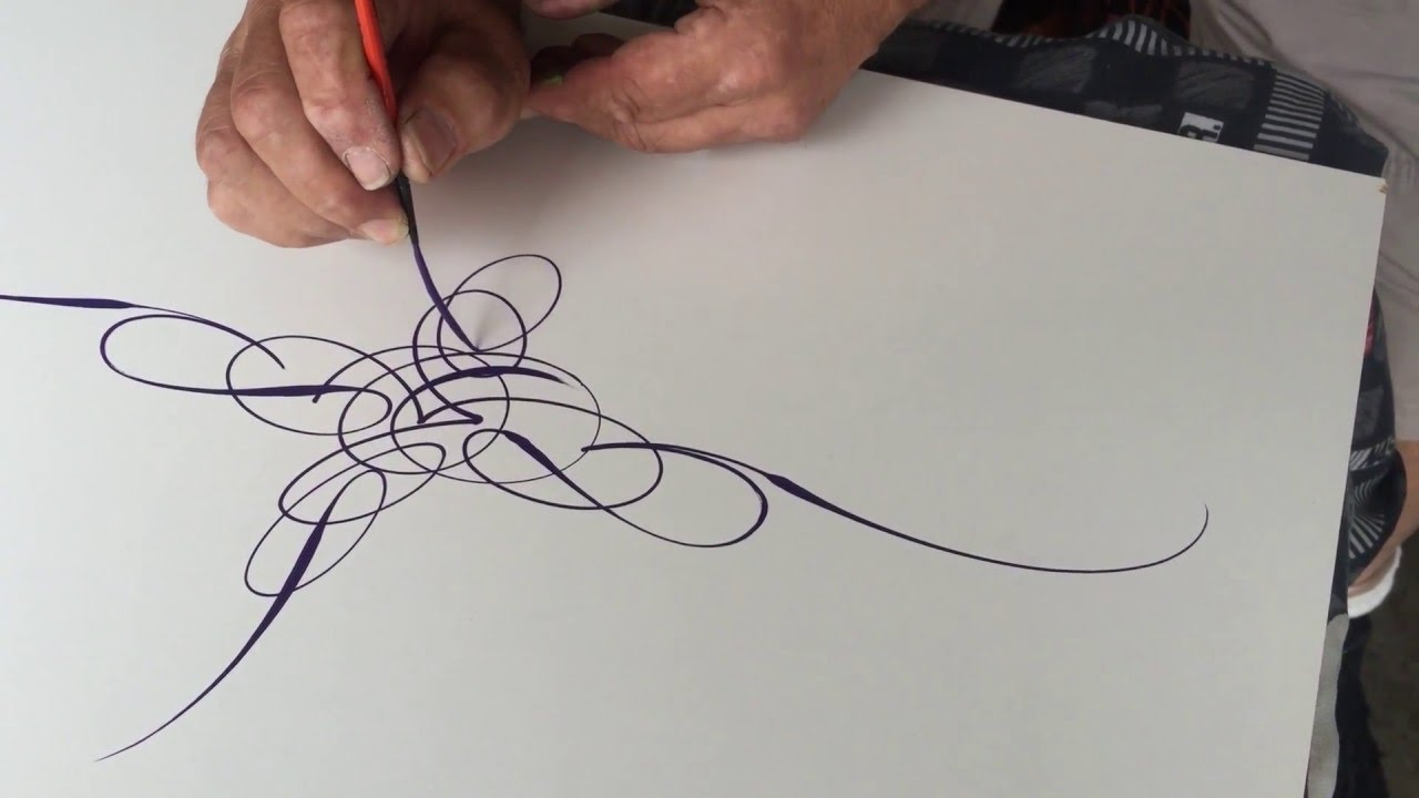 Scroll style pinstriping mastery by wizard youtube scroll style pinstriping mastery by wizard publicscrutiny Image collections