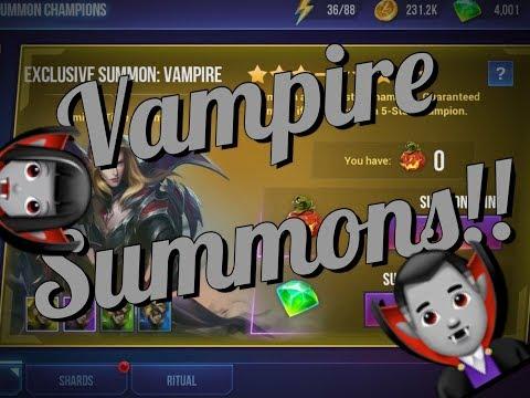 Vampire Summons! New DHC Champion!   Dungeon Hunter Champions