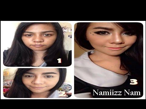 How to ลงรองพื้นสำหรับสาวผิวคล้ำให้เนียนกริบ!  Make up  by Namiizz Nam