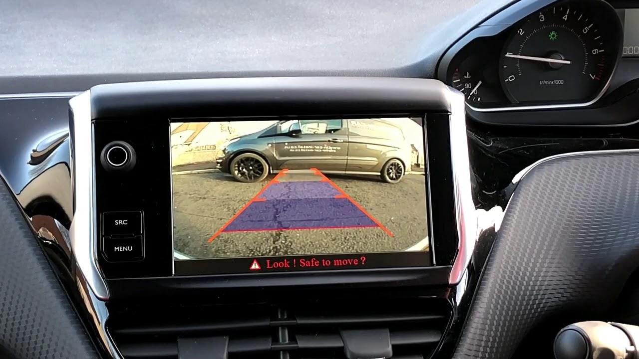 Peugeot 208 2008 Reversing Reverse Camera Kit 2014 2017 Retrofit Youtube