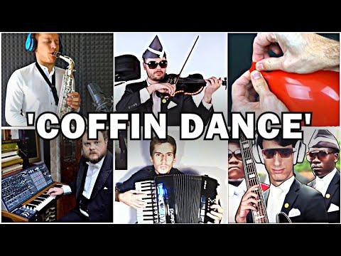 Who Played It Better: Coffin Dance - Astronomia (Bass, Sax, Piano, Balloon, Accordion, Violin)