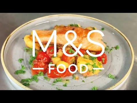 Chris' DEE-LICIOUS Pan-fried Trout   M&S FOOD