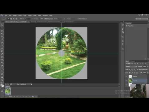 How To Create CD Or DVD Label In Adobe Photoshop CS6
