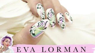Рисунки на ногтях! Как рисовать на ногтях! Роспись ногтей Ева Лорман! Дизайн ногтей Ева Лорман!
