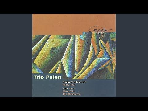Piano Trio, Op. 17: I. Allegro