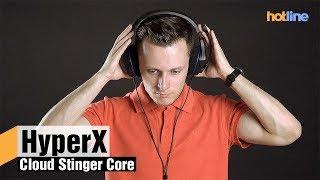 HyperX Cloud Stinger Core — обзор игровой гарнитуры