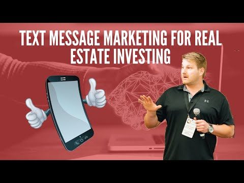Text Message Marketing for Real Estate Investing