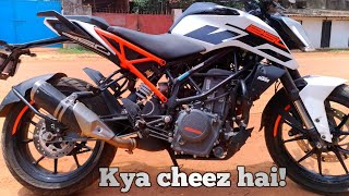 2018 KTM DUKE 250 FIRST RIDE REVIEW!