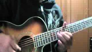 Avenged sevenfold - Bat country acoustic guitar solo cover