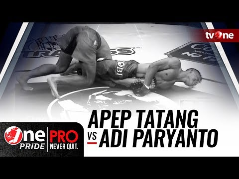 [HD] One Pride MMA: Apep Tatang VS Adi Paryanto -  FULL FIGHT