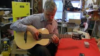 видео Как настроить 7-струнную гитару