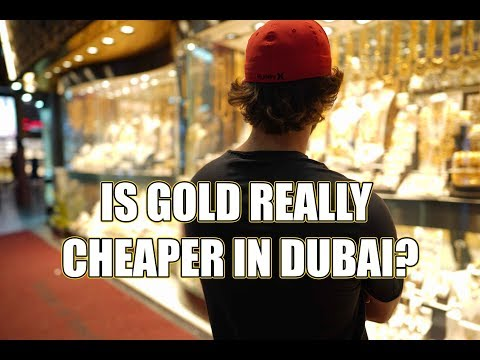 #1 Cheapest Place To Buy GOLD in the world? Is it Dubai's Golden Souk!?