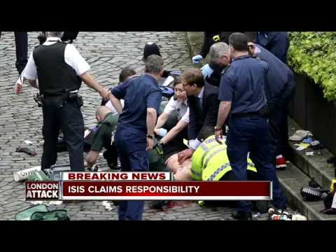 London attacker born in Britain, previously investigated; Islamic State group claims attack