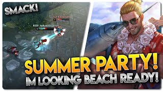 SUMMER PARTY BLACKFEATHER!! Vainglory 5v5 Gameplay - Blackfeather |WP| Top Lane Gameplay