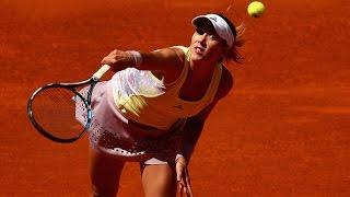 2016 Mutua Madrid Open First Round   Garbine Muguruza vs Anna Karolina Schmiedlova   WTA Highlights
