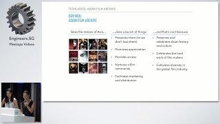 Team Asian Film Archive - TechLadies Graduation Ceremony