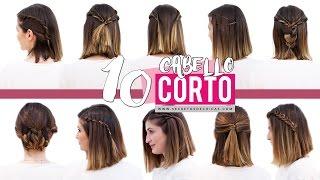 10 peinados fáciles para cabello corto o media melena | Patry Jordan