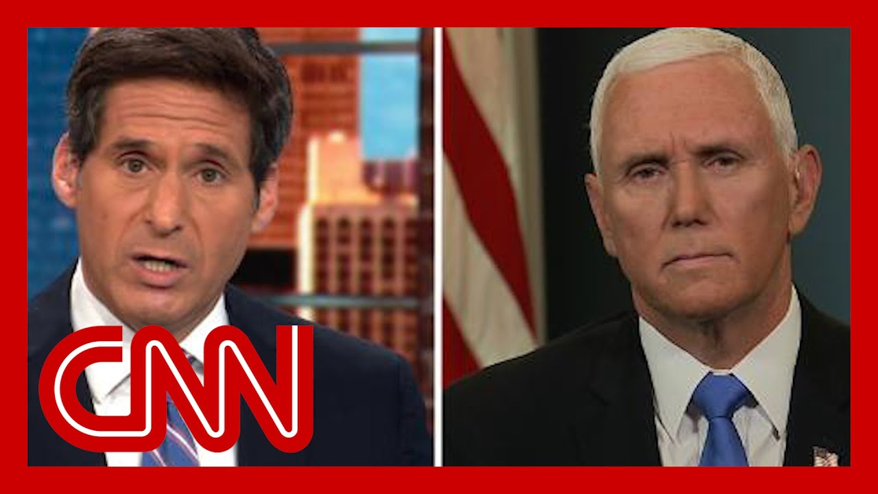 Berman To Pence How Can You Not Know About Qanon Youtube