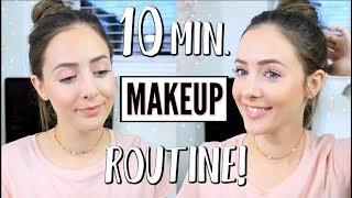 10 Minute Everyday Makeup Tutorial!