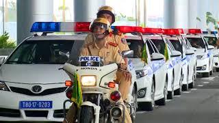 Những chiếc mô-tô dẫn đoàn hiện đại nhất của CSGT tại APEC