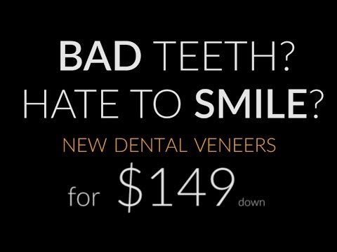 Screw Your Dentist - New Dental Veneers $149dn* @ Brighter Image Lab