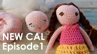 Welcome to Episode 1 of my latest crochet-a-long for my Amigurumi Dress Up Doll pattern, which will be running over the next few weeks, in time for Christmas.
