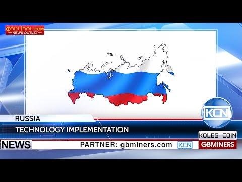 KCN Russian economy adopts blockchain