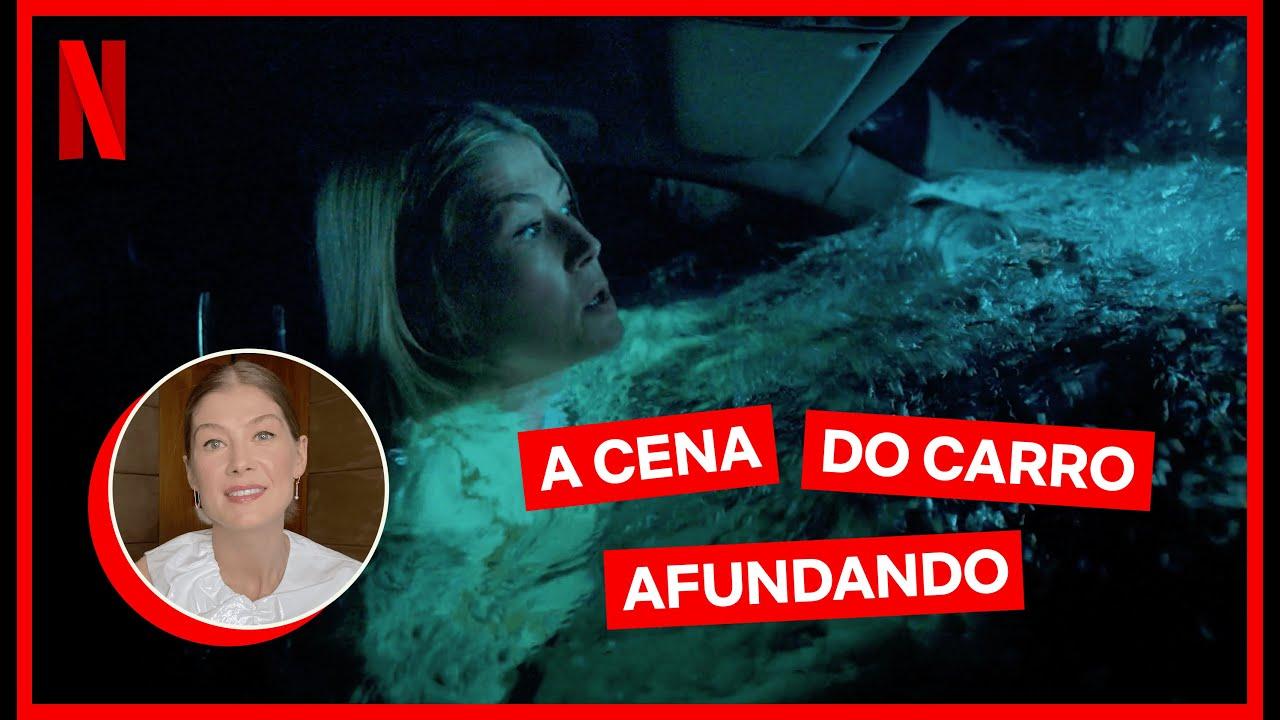 Rosamund Pike conta como foi gravar embaixo d'água | Eu Me Importo | Netflix Brasil