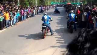 Ghost Ryderz with Benjamin Baldini - Stunt Show at Technopark,Trivandrum