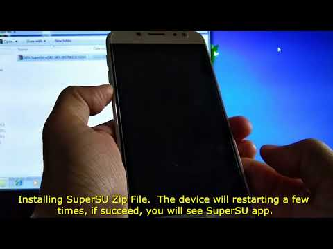 How to Install SuperSU Rooting File using TWRP Recovery on Samsung Galaxy Devices