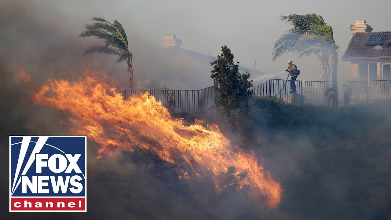 FOX News Wind-driven wildfire explodes north of Los Angeles