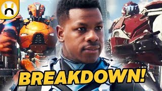 Pacific Rim: Uprising Official Trailer BREAKDOWN