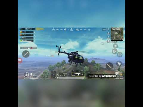 PUBG Pochinki Air Assault :Fortunate Son~ by Creedence Clearwater Revival
