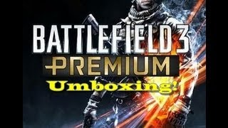 Umboxing Battlefield 3 Premium edition