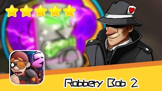 Robbery Bob 2 Hauntington 11 Walkthrough Secret Mission Recommend index five stars