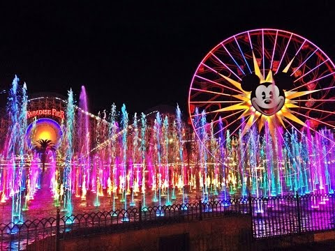 FULL New World of Color Celebrate show at Disney California Adventure with Neil Patrick Harris (HD)