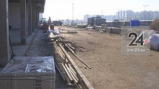 В Нижнекамске канализация мешает бизнесмену строить торговый центр