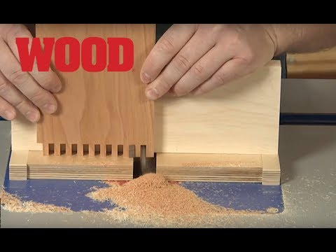 How To Make Box Joints on Your Router Table - WOOD magazine