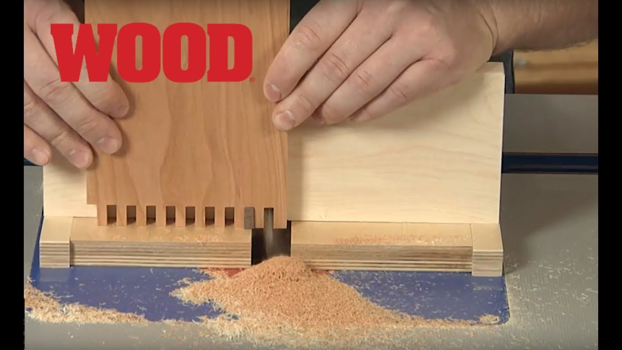 How To Make Box Joints On Your Router Table Wood Magazine