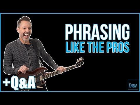 Phrasing Like the Pros - Livestream + Q&A