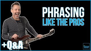 Phrasing Like the Pros - Livestream + Q&A thumbnail