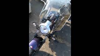 Kawasaki Vulcan S accessories and review